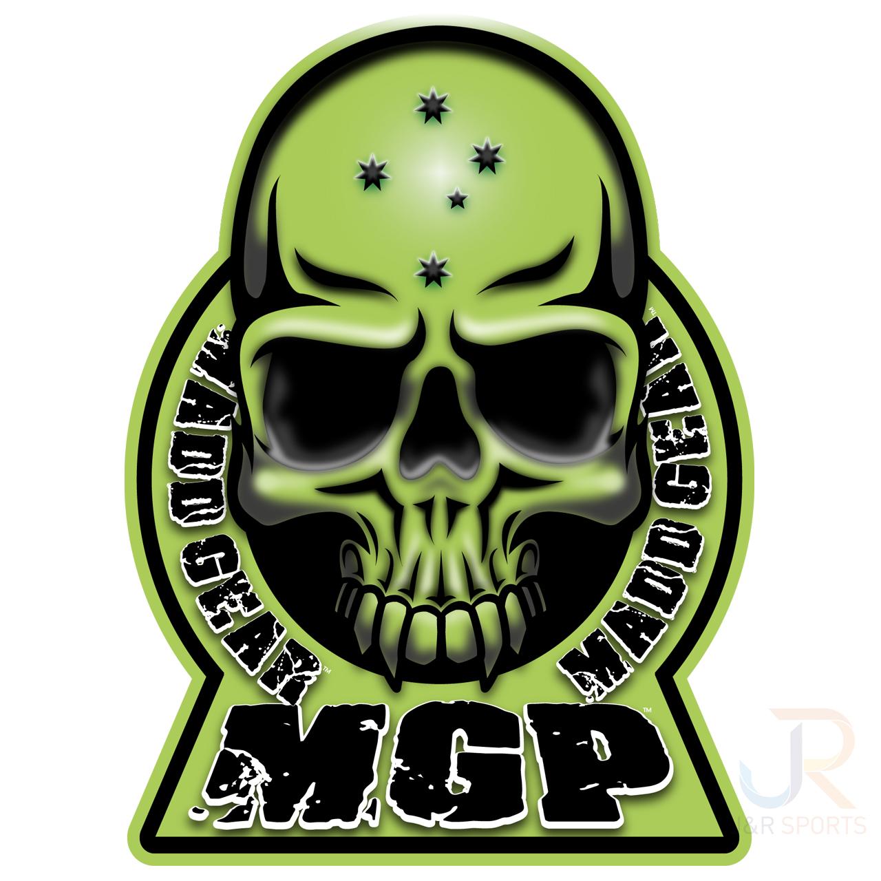 MGP Skateboards Skull 3D Logo