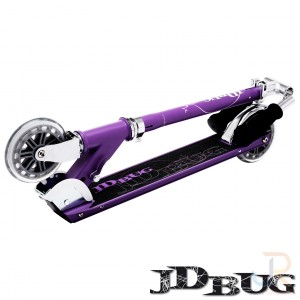 JD Bug Classic Street 120 - Matt Purple Folded - JDMS126