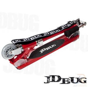 JD Bug Scooters Original Street - Red Glow Pearl Folded - JDMS133B