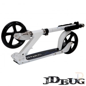 JD Bug Scooters Street 200 - Pepper White Folded - JDMS200