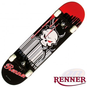 Renner Skateboards - Blood Soaked 3108 A20 Angled
