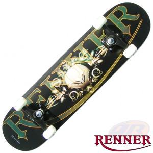 Renner Skateboards - Gothic Space Guns 3108 B20 Angled