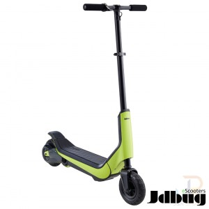 JD Bug eScooters - Fun Series - Lime - Angled - JDES112GR