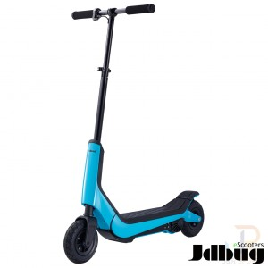 JD Bug eScooters - Sport Series - Sky Blue - Angled - JDES312BL