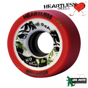 Grn Mnstr Heartless BREAKER Tangerine 59mm 94a - GMHL122611