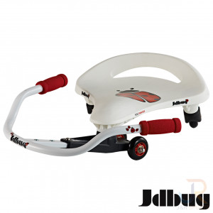 JD Bug Kids Swayer - White Red Side View - JDTC60