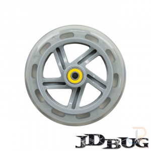 JD Bug Street 150mm Wheel - Clear - JD150-6101CL