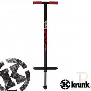 Krunk Retro Pogo Stick - Black Red - KR204-465