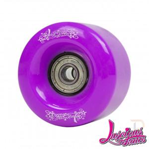 Luscious Roller Skate Wheels - Purple - LS204-741
