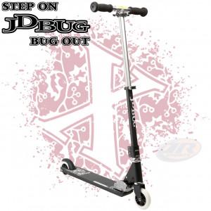 JD Bug Pro Street Stunt Scooter Matt Black
