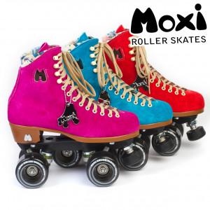 Moxi Roller Skates Fuchsia Pool Blue Poppy Group