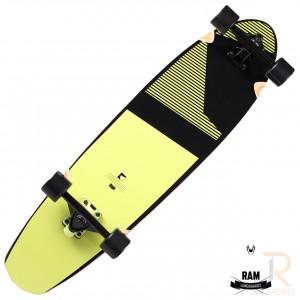 RAM Longboards Blacker - Sunny Lime Angled - RL22272