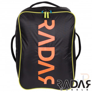 Radar Wheels Backpack - Black Neon - Front - RWBKPKBK