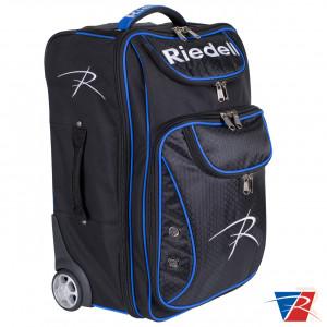 Riedell Travel Bag 19 - Black Blue - Front Angled 1 - RSGBRSTB01