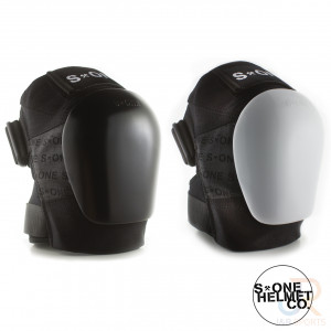 S1 Gen 3 PRO Knee Pads - Black Black - Pair 2 - SHKP3BKBK