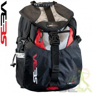 Seba BackPack Small Black Red - SSK14-SBG-BPS-BKRD