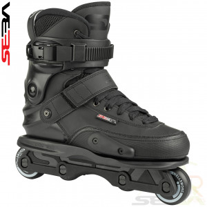 Seba SX 2 Street - Black Black - Angled - SSK17-SX2ST