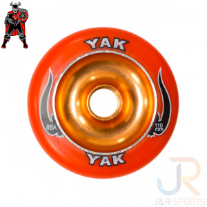 YAK - SCAT METAL CORE - 110mm 88a - ORANGE ORANGE - YSC110OR