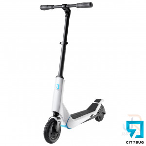 CityBug Electric Scooters 2 - White - Angled Front - CBES809WH