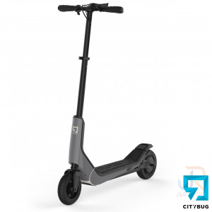 CityBug Electric Scooters SE - Grey - Angled Front - CBES315GR