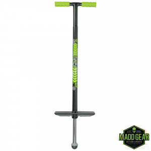 Madd Gear Pogo - Black Lime - Front - MGP207-147