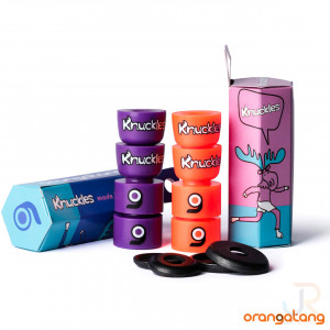 Orangatang Knuckles - Packed & Open 2 - Orange Purple
