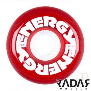 Radar Energy 65 Clear Red - Face - RWRE62CLRE