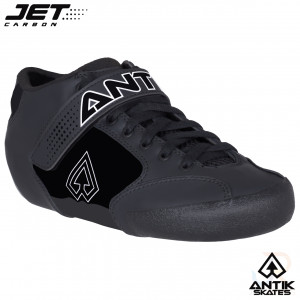 Antik Jet Carbon Boot - Black - Angled View - GMAT507259040