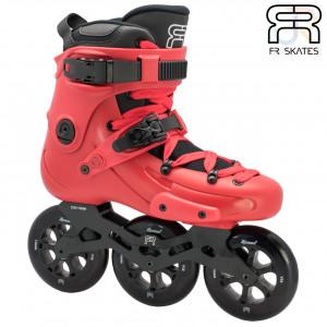 FR Skates - FR ONE 310 - Red - Angled - FRSKFR1310RE
