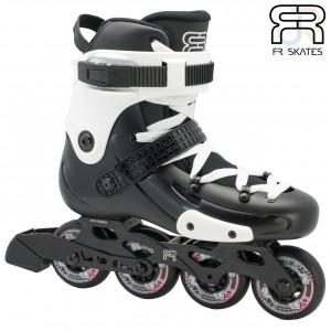 FR Skates - FR W 80 - Black - Angled - FRSKFRW80BKW