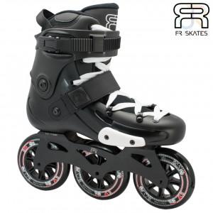 FR Skates - FR X 310 - Black - Angled - FRSKFRX310BK